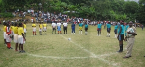 Moron Panoramic Photo Soccer